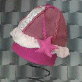 Bonnet tous mimi pour petite princesse