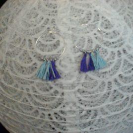 Créole pompons et perles