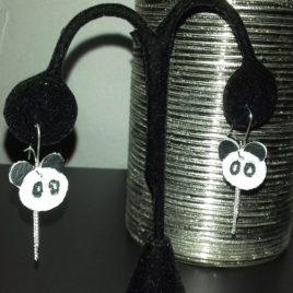 Mes petites boucles d'oreilles Panda
