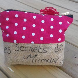 """Petite pochette """"Les secrets de maman"""""""