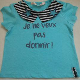 Le petit tee-shirt pour bébé