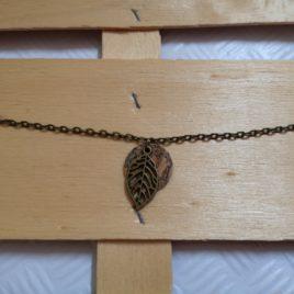 Bracelet et son disque en liège