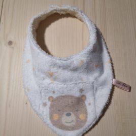 Bavoir bandana mon ourson